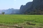 Bilfärd till Vientiane
