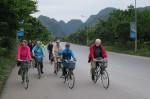 Cykling i provinsen Ninh Binh 21-24 nov