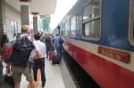 Tågresa Danang-Saigon